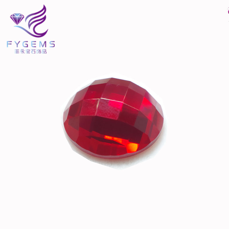 싼 prices ruby beads 합성 보석에게 공 5 # red ruby gemstone