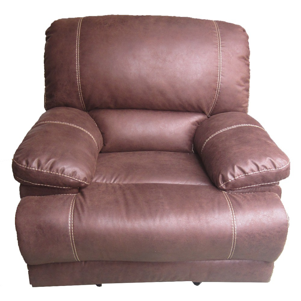 Used Bonded Leather Recliner Sofa Set & Single Recliner - Buy Room