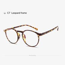 Toketorism овальная винтажная оправа для очков Ультралегкая оправа для очков прозрачные очки без градусов 9832(Китай)