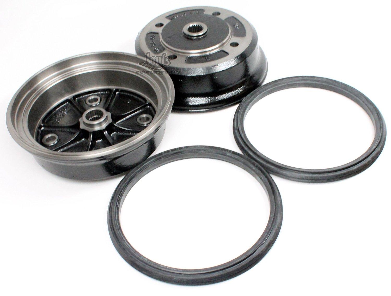 Buy Kawasaki 07 16 Mule 3010 4010 Trans4x4 Diesel 2 Front Brake Drum Fuel Filter With Seal Pair