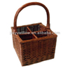 Wicker basket for bottles With optional Size and color
