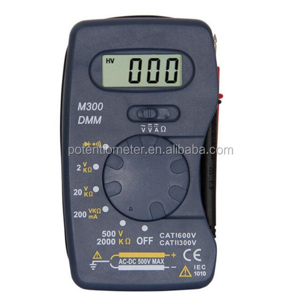 Slim Mini Pocket Pocket M300 Multimeter