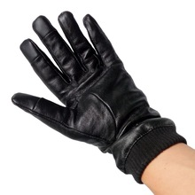 stock clearance lamb leather gloves clearance cheap magic touch screen black leather gloves on sale gloves