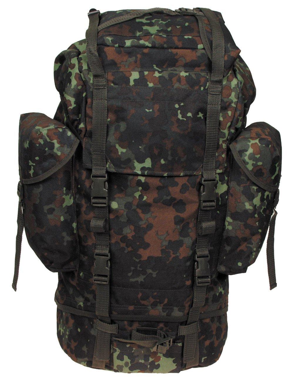 61bc7a204e66 Buy MFH German Army Rucksack 65L Flecktarn in Cheap Price on Alibaba.com