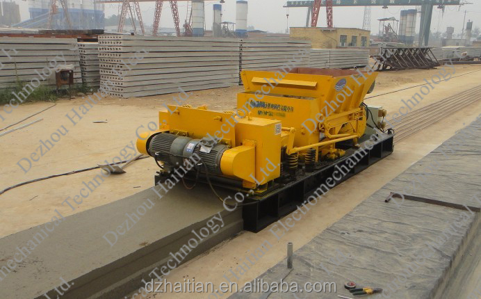 HTY 220*1200 Precast Concrete Roof Slab/floor slab Making Machine