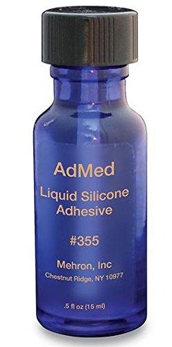 Mehron AdMed Adhesive Liquid Prosthetic Adhesive 355