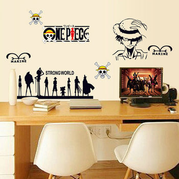 Cartoon Children\'s Room Bedroom Wall Stickers Removable Sticker ...