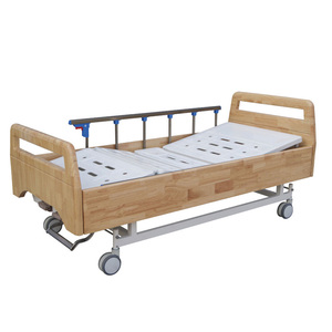 Two-Function Wooden Marked Luxurious Electric Hospital Bed Sales Price