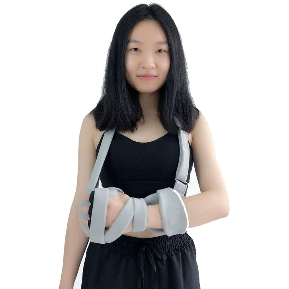 MQYH@ Fingerboard Hand Wrist Fracture Fixed Finger Orthosis Stroke Stroke Hemiplegia Rehabilitation Training Equipment Home