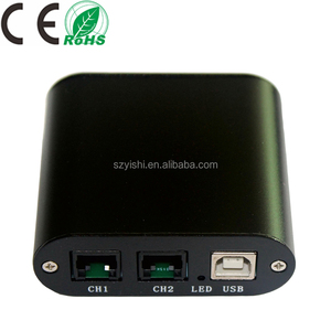 2 Channels/Lines USB Telephone Voice Recorder, 2 Ports USB Analog Telephone Call Recorder