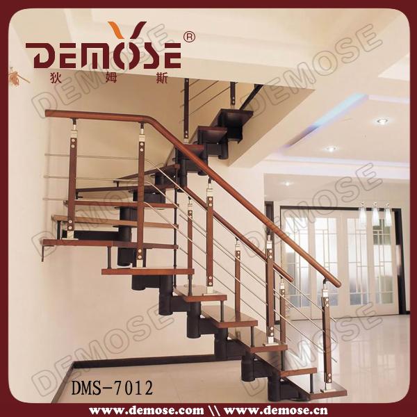 moderno interior escaleras de madera para casas pequeas