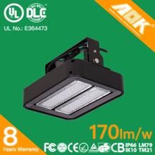 UL DLC Premium 100w led flood light high quality 80w led outdoor flood light