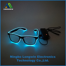 led glasses light up flashing glasses with multi-color three modes for party decoration