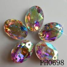 glass diamond sewing 3d embellishments