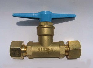 QJT200-10 FEILUN brand high pressure pipe valve for gas manifold,shutoff gas valve for manifold