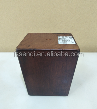 Square Tapered Hardwood Wooden Sofa Feet Legs To Make Couch Higher Uk T23