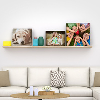 Different Style Customized Design Cute frameless wood/gold photo frames