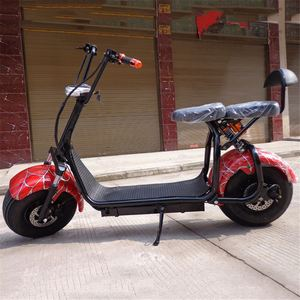 Eec Ce Certificates Citycoco Electric Scooter With Big Tire Two Wheel Scooter