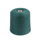Factory direct High Quality Cheap Dyed 85% polyester 15% linen Blended yarn For Sweater and Towel
