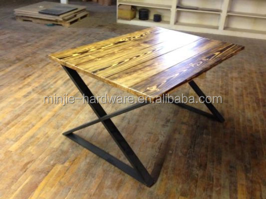 cast iron metal steel table legs for coffee table
