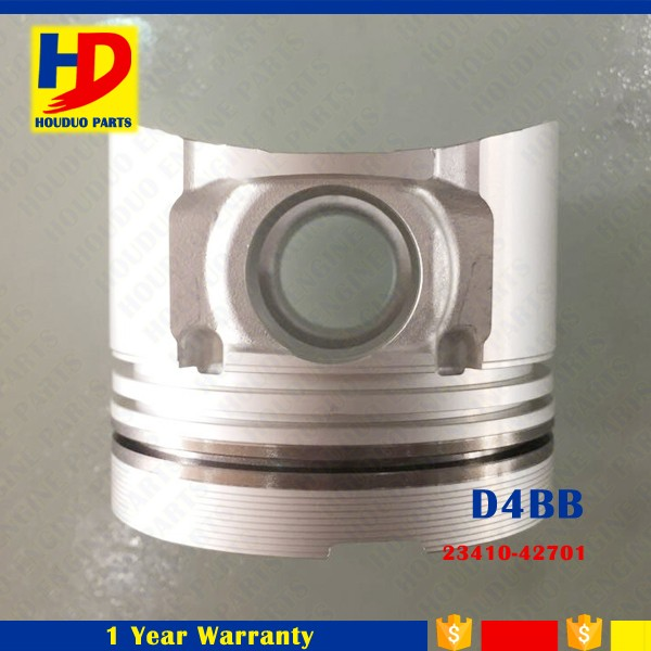 Warehouse Top Quality Diesel Engine Parts D4BB Piston