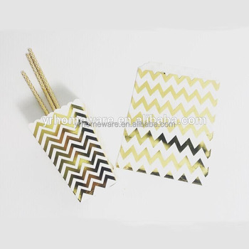 Gold Foil Paper Candy Bagswedding Favor Candy Bags Buy