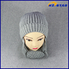 HZM-16445011 Unisex Cute Winter Warm Caps Ear Baby Knitted Hat Scarf Set