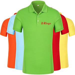 Low MOQ Custom silk screen Round collar work clothes team t shirt