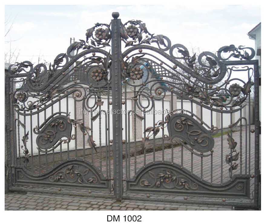 Backyard iron gate and fancy gates models
