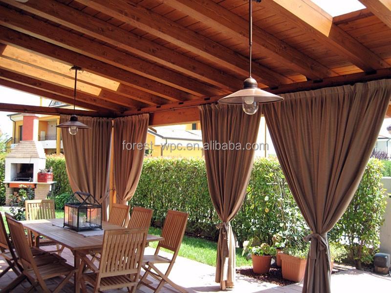 Wpc prefabricadas garaje kits p rgola wpc madera tama o - Pergolas prefabricadas ...