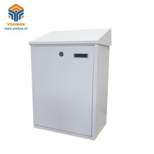 Apartment Home White Powder Coating Steel Mailbox Cabinet