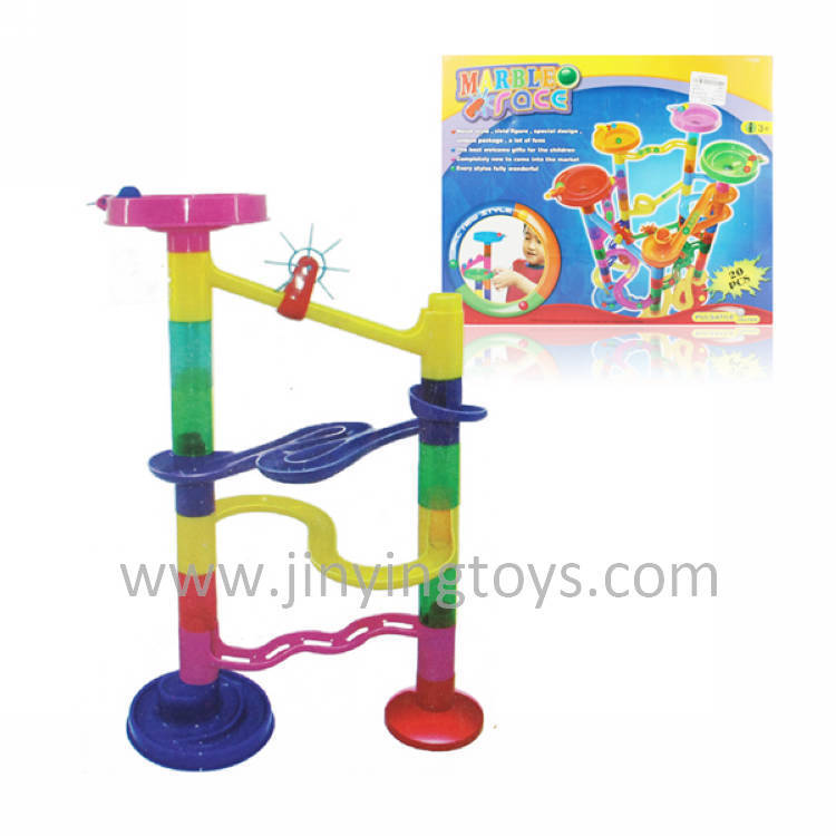 Plastic Kids Assembling Educational Scroll Bead Block