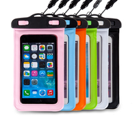 2016 fashion High Quality Universal Water Proof PVC Mobile Phone Cases Waterproof Bag/Pouch ,Water Proof Cell Phone Bag