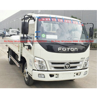China Petrol Gasoline Engine Light Cargo Truck Mini Foton Vehicles for Sales