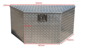 Aluminum Truck Tool Box Bed Trailer Pickup Camper Storage Toolbox