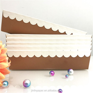 Factory Wholesale Bread Loaf Pan Disposable Paper Loaf Pan For Baking