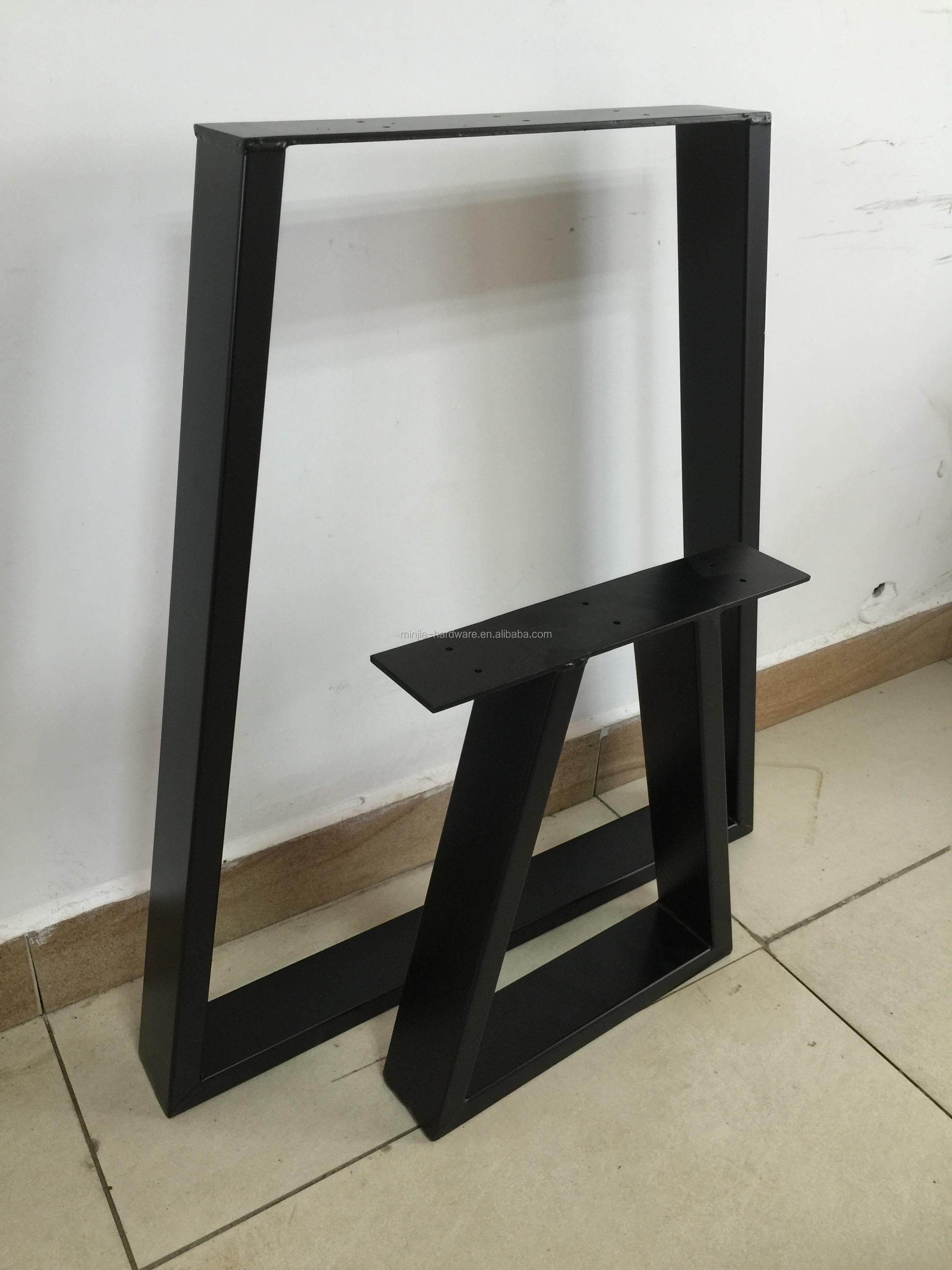 diy table cast wrought leg legs pipe black sale for drawers machine with walnut desk iron century two angle and dining lyre