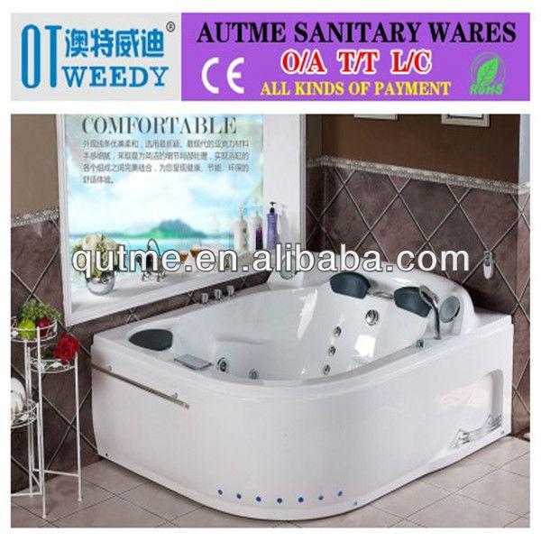 hochwertige innen whirlpool badewanne 2 personen. Black Bedroom Furniture Sets. Home Design Ideas