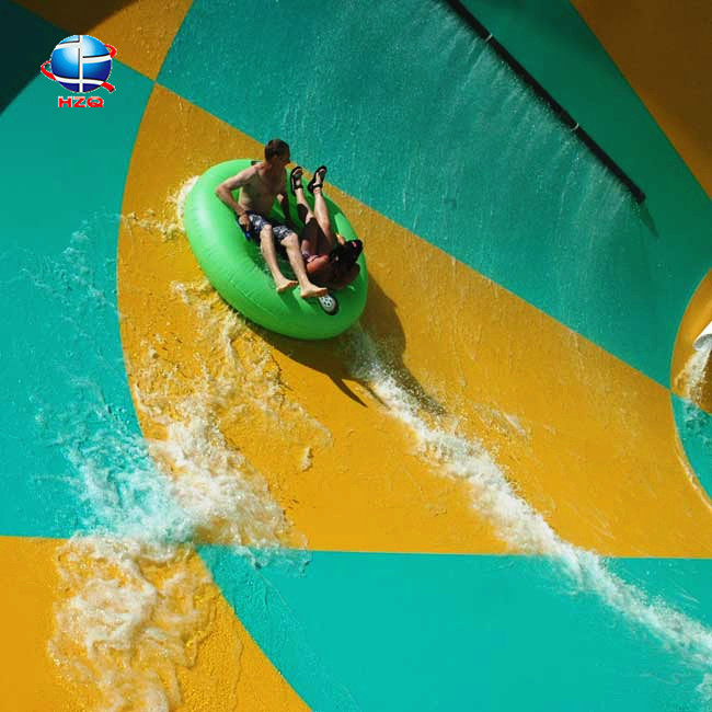 Fun sports products, fiberglass fun tube slide