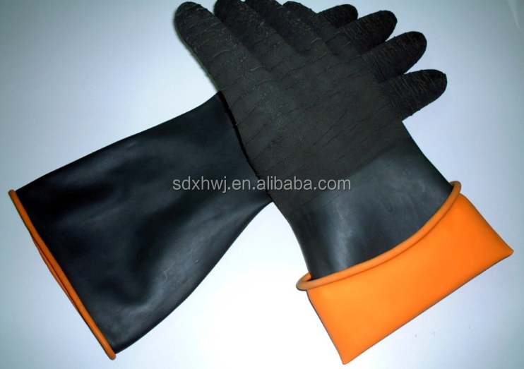 Industrial Working Safety Latex Crinkle Gloves Dipping Machine