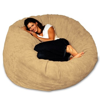 5 Foot Foam Filled Bean Bag Chair Sofa Bed Relax Sac