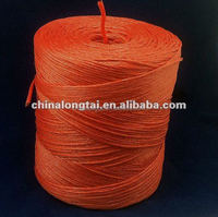 white agricultural plastic packing baler twine