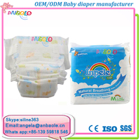 Sleepy disposable diaper customized OEM printed baby diapers cheap prices