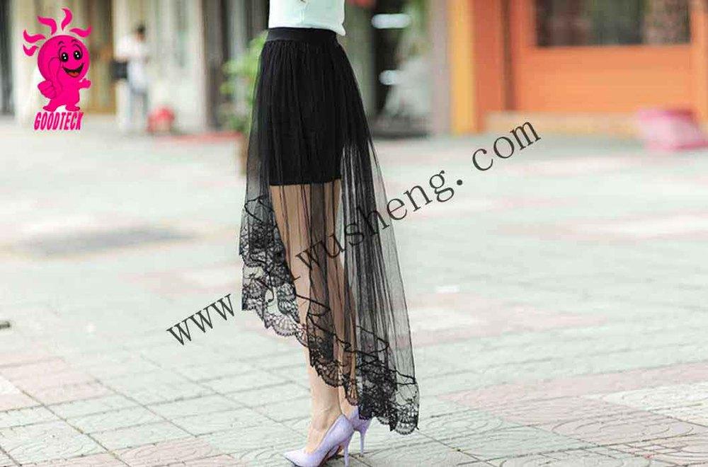8f091a5be Vestido Las Mujeres Maduras Falda Sentido Para Faldas Velo Corea ...
