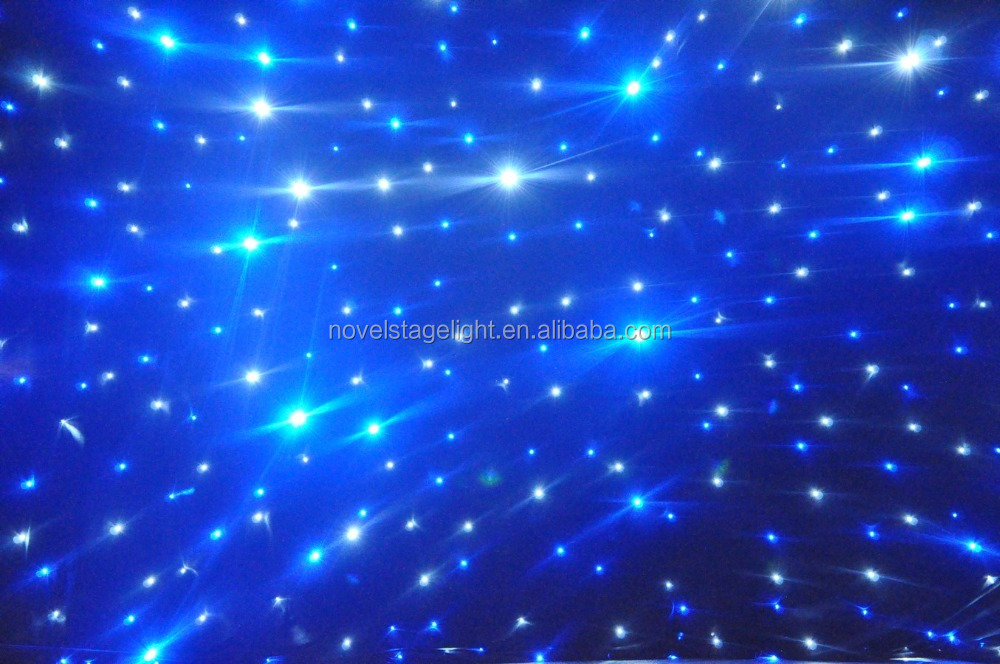 HI-COOL LED decoration lights theater LED star curtain light