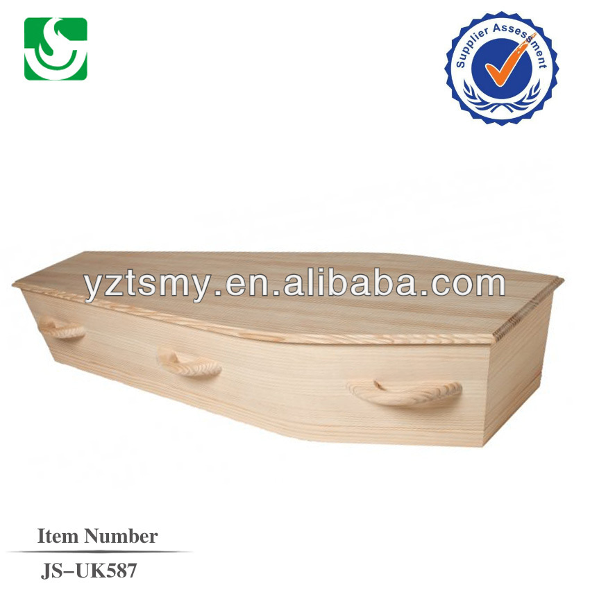 simple cardboard coffin factory from china