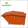 Factory Directly Wholesale Galvanized Garbage Container With Logo