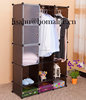 Foldable wardrobe storage bedding boxes with drawer