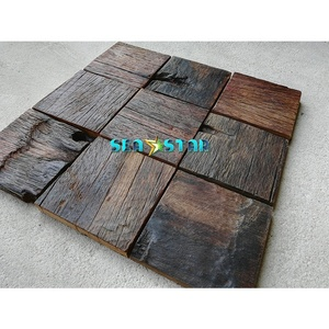 Solid wood board wall design wall and floor tiles