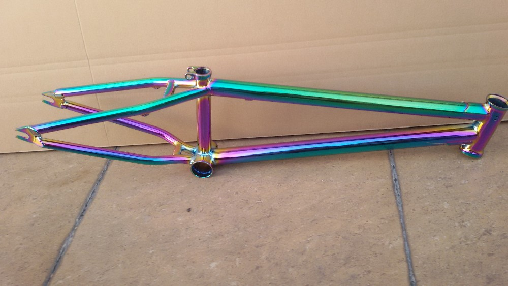 Kingbike New Style Bmx New Surface Tratement Colored-plating Cro-mo ...